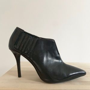 Jeffrey Campbell Patent Leather Bootie Heels